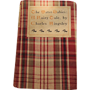 """The Water Babies, A Fairy Tale"" Old Cloth Covered Book by Charles Kingsley"