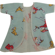 "Vogue Ginny ""Wee Willie Winkie"" Flannel Robe from Frolicking Fables Series"