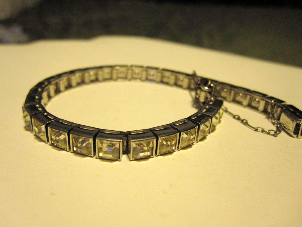 Dorsons Sterling Silver Art Deco Bracelet