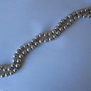 """Miriam Haskell Baroque Pearl Necklace 24"""""""