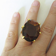 HUGE Vintage Glass Rings, Any Size!