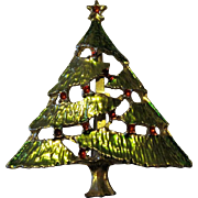 Holiday Christmas Pin With Enamel