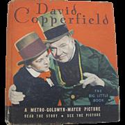 1934 Big Little Book David Copperfield Comic Type Children's Hardcover