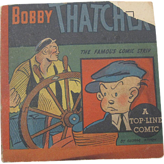 Bobby Thatcher and the Samarang Emerald by George Storm the famous comic strip Big Little Book 1935 Paperback Children's