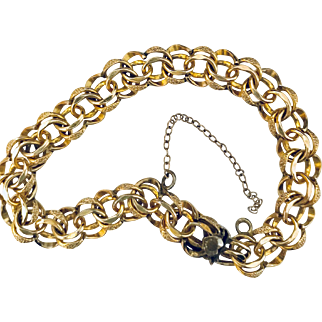 Forstner Gold Filled Charm Starter Bracelet