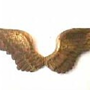 Antique Pilot Wings World War Findings