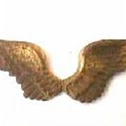 Antique Pilot Wings World War Findings