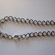 Vintage Beau Sterling Silver charm bracelet starter