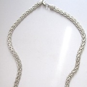 Sterling Silver Quality Necklace