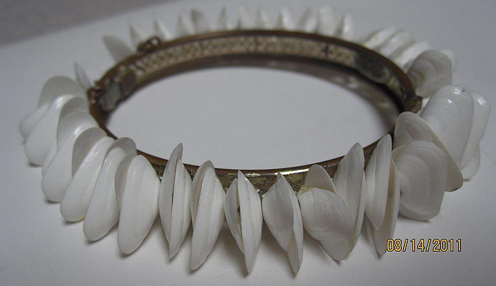 Miriam Haskell Shell Bracelet