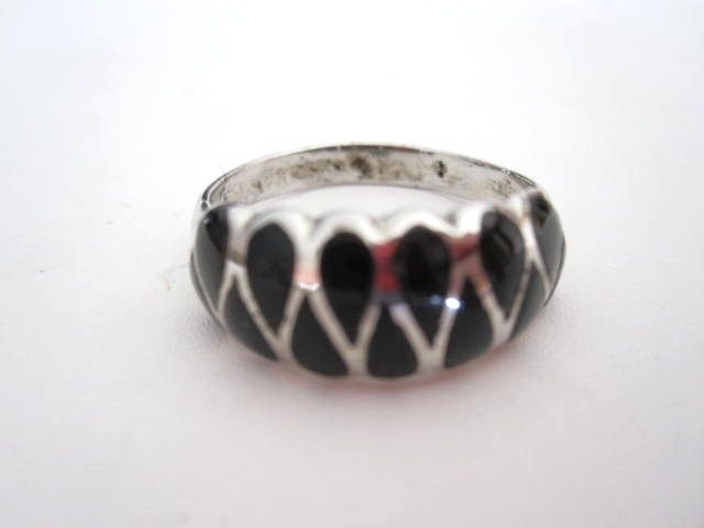 Sterling Onyx Vintage Ring With Special Shipping Deal!