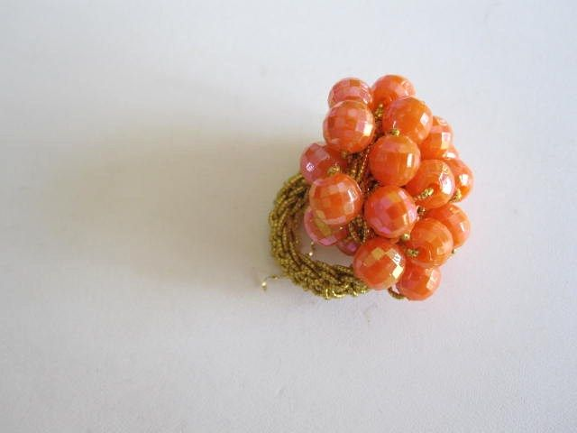Cluster Bead Ring, Possibly Designer