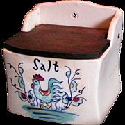 Diminutive Salt Box; vintage Ucago - Red Tag Sale Item