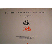 To the East and Home Again; Jo Spier; 1935