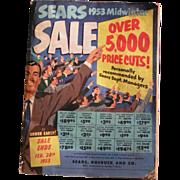 Sears 1953 Midwinter Catalog