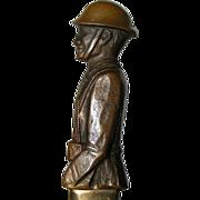 American Legion 1932 Doughboy Bronze Opener