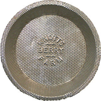 Knott's Berry Farm vintage pie tin