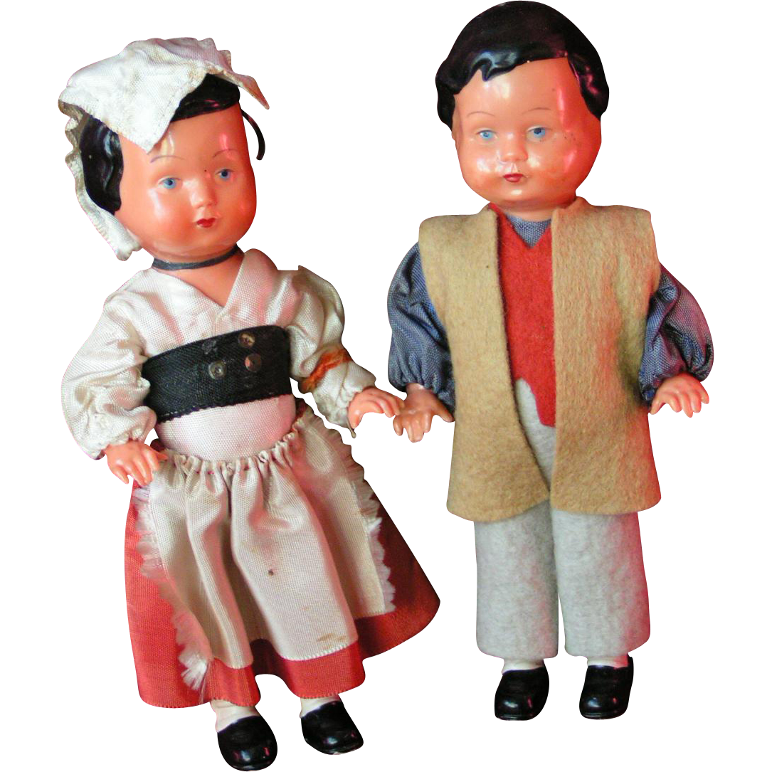 EDI 1950s Bavarian Couple; Western Germany