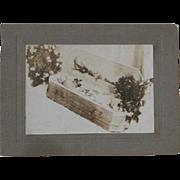 Photo In Memoriam Infant; original mounting & print