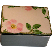 Franciscan Ware Desert Rose lidded box