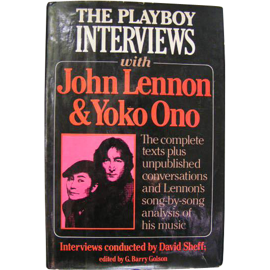 John Lennon and Yoko Ono interviews; First Edition, Playboy Press, 1981