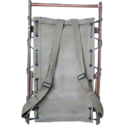 WWII Army Radio Pack frame; super example