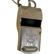 Boy Scout Leader's Whistle; true vintage oldie