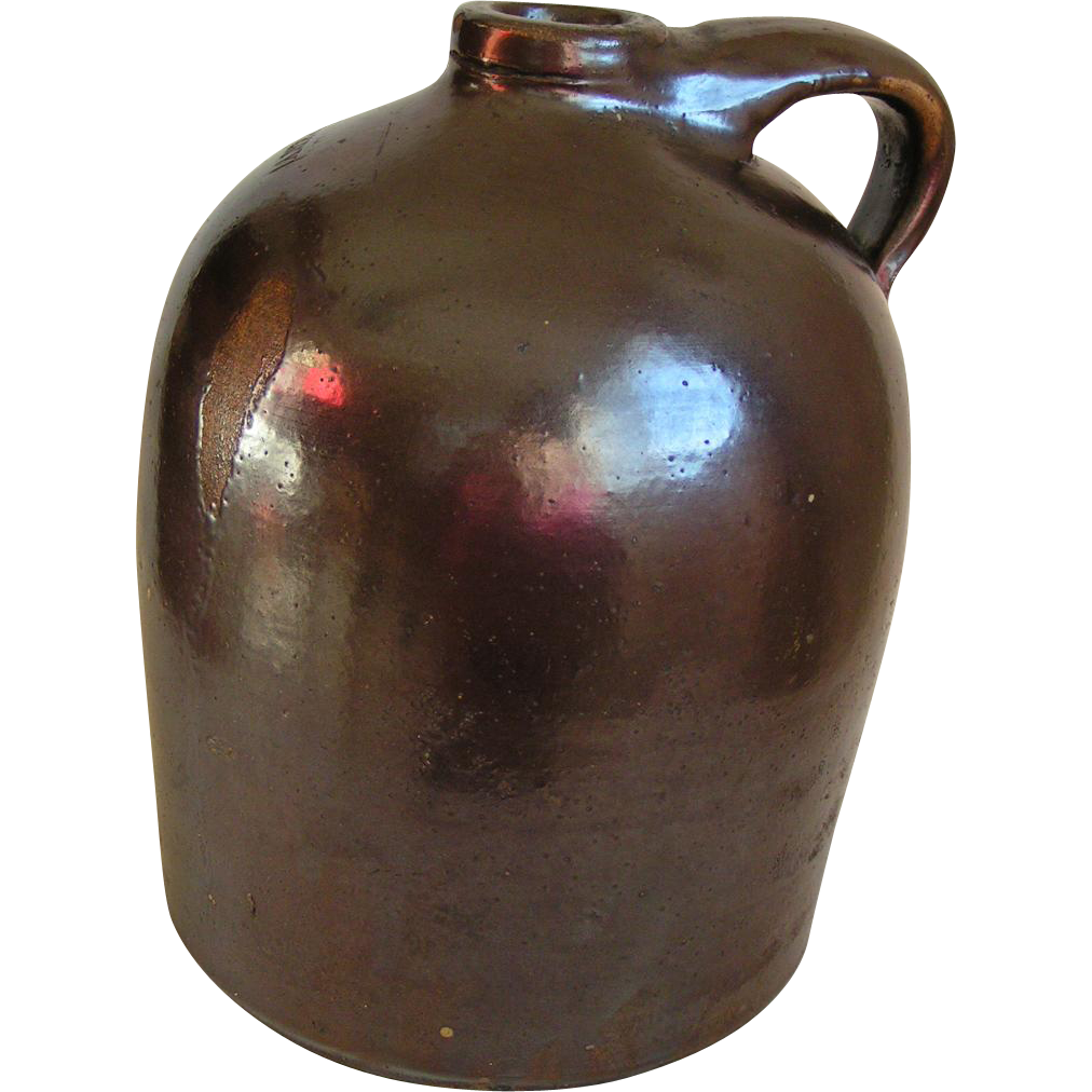 Beck Bros. Whiskey Jug; Parish Iowa; near mint condition