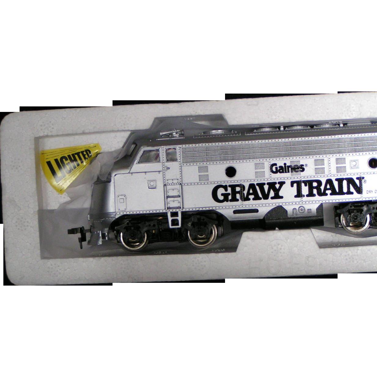 Bachman HO scale Gaines Gravy Train train set NIB
