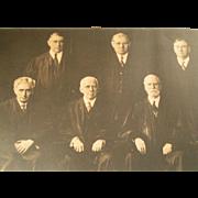 Historic Supreme Court 1932 Photo Portrait
