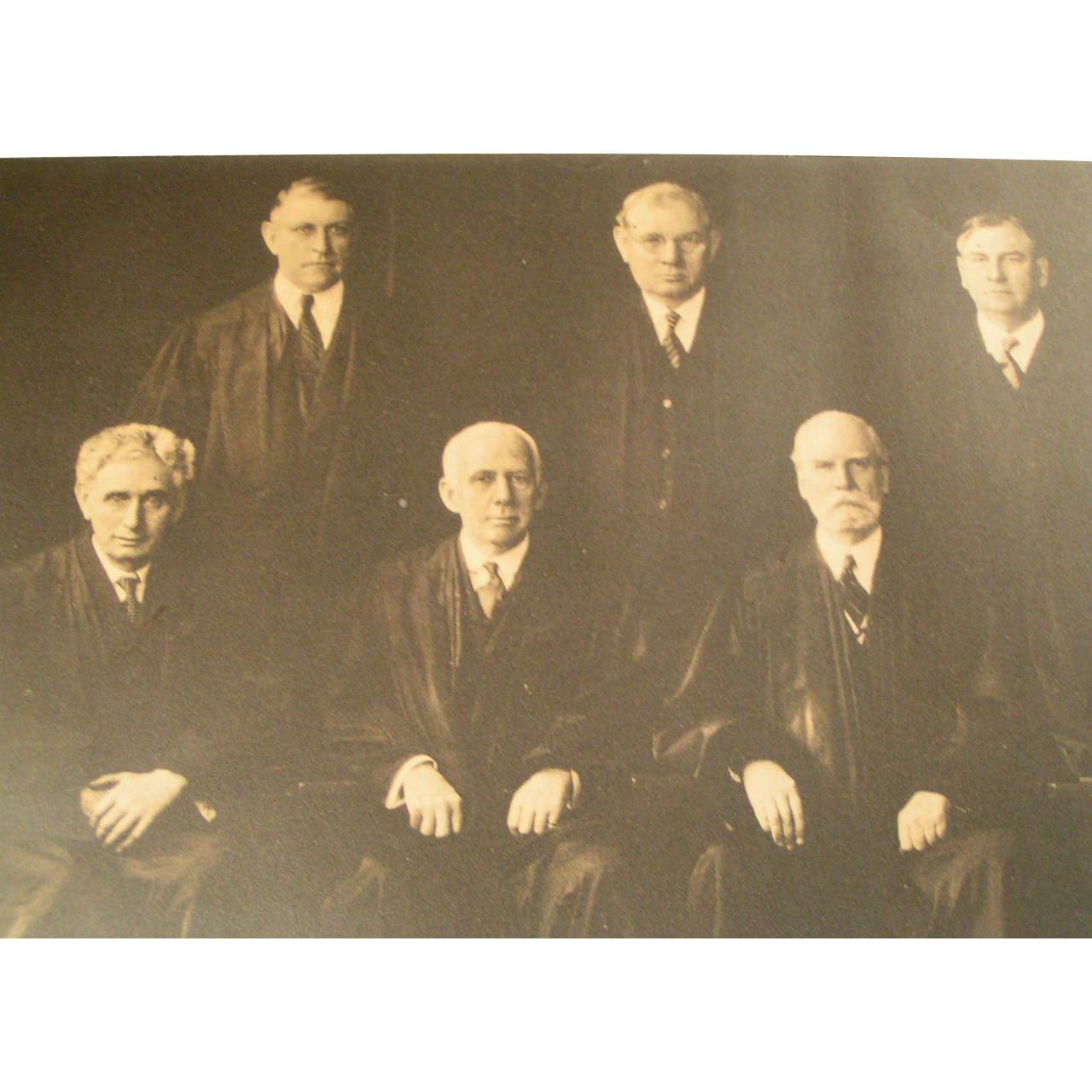 Historic Supreme Court 1932 Photo Portrait