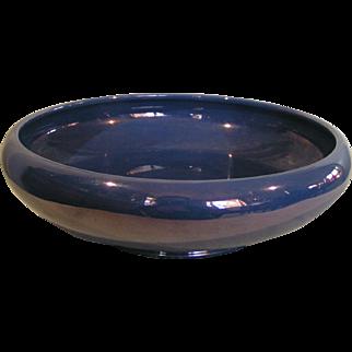 Cowan bowl iridescent blue luster