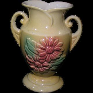 Hull Sun Glow Vase; 6 1/2, No. 92