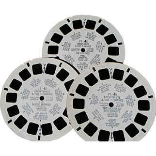 Disney Snow White View Master reels with booklet
