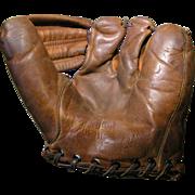Early 1950s Baseball Mitt; Rizzuto model