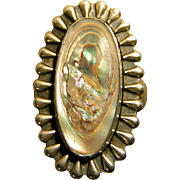 Sterling, Mother of Pearl Ring