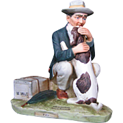 "Norman Rockwell ""Pals"", Post Sept. 27, 1924 figurine"