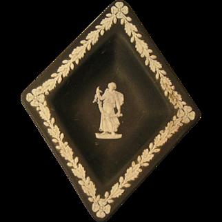 Wedgwood black diamond trinket dish