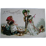 Early 1900's postmarks Easter postcard lot
