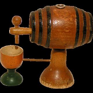 Miniature WoodenTavern Keg, Pub Barrel