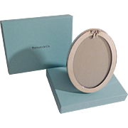 TIFFANY & CO. Sterling Bow  Picture Frame