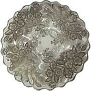 "Cambridge ""CAPRICE""  Silver Overlay Cake Plate"