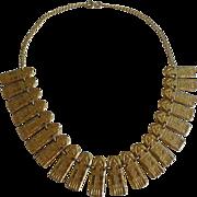 1920s EGYPTIAN Snake Motif Necklace