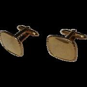 """Correct Quality""  Krementz  marked GOLD-FILLED  Men's Vintage Cufflinks"