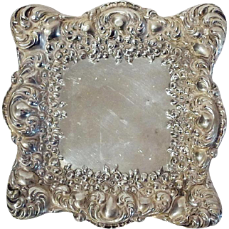 UNGER BROS. Sterling Pin Tray