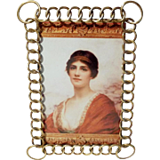 Antique Brass RING Picture Frame Larger Corners