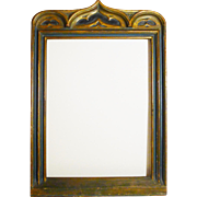 Italian Carved Gilded Painted Frame ca. 1900