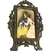 Miniature FRENCH Advertising Frame