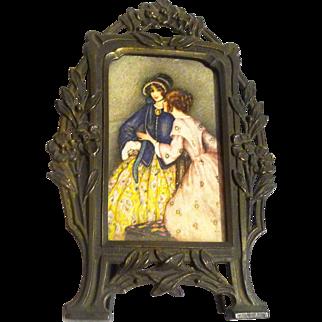 Miniature FRENCH Advertising Frame Graymoor NY