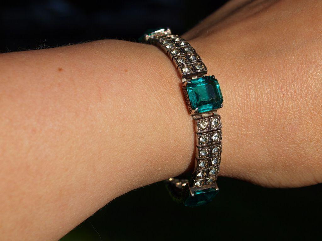 Fishel Nessler Sterling Paste Bracelet